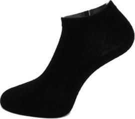Boru Bamboo Short Sneaker Sok | 2-Pack | Zwart