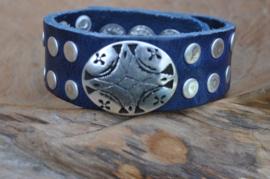 Waitz armband Vintage Blue