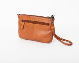 Bag2Bag Rubia Limited Schoudertasje | Crossbody | Clutch | Cognac