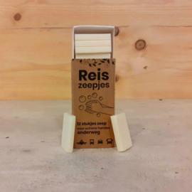 HappySoaps Mini Reis en Toiletzeepjes | 12 Stuks