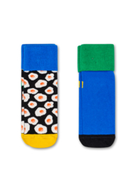 Happy Socks 2-Pack Antislip, Sunny Side Up,  12-24 maanden, schoenmaat 22-24