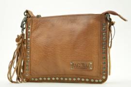 Bag2Bag Schoudertas Joplin Brown/Cognac