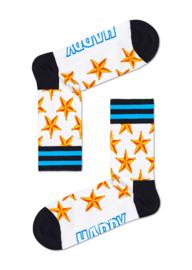 Happy Socks Athletic Sheriff Star 3/4 Crew Sock