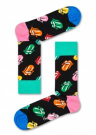 Happy Socks Collabs Rolling Stones Paint It Bright Sock RLS01-9300