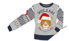 Sarlini Dames Kerst trui met LED lampjes | Wild X-Mas