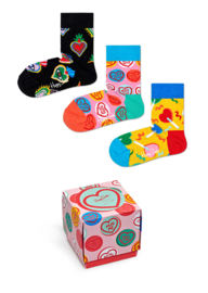 Happy Socks 3-Pack Gift box I love You | 0-12 maanden, Maat 13/21