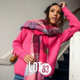 LOT83   Knitted Gebreide trui   Vera Pink