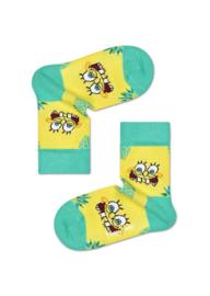 Happy Socks Sponge Bob Kids | Fineapple Suprise Sock