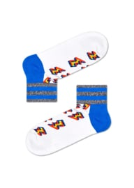 Happy Socks Athletic Eternity Flash 1/4 Crew Sneaker Sock