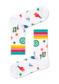 Happy Socks Athletic Countryside Mid High Sock