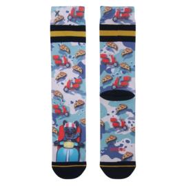 Xpooos Heren Socks Pizza King 60223