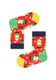 Happy Socks Kids Christmas Santa Socks
