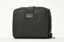 Bag2Bag Compact Portemonneetje Lima, Black