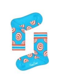 Happy Socks Kids Crazy Dot Rib Sock