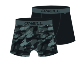 O'Neill Heren Boxershorts Camouflage & Plain | 2-pack | 900622