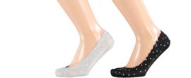 Sarlini Dames invisible sneakersok   2-pack   Stars   Maat 36-41