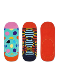 Happy Socks 3-Pack Liner | Sneaker Socks Big Dot