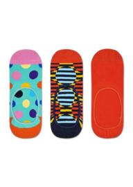 Happy Socks 3-Pack Liner   Sneaker Socks Big Dot