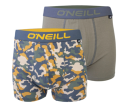O'Neill 2-Pack Heren Boxershorts Camouflage   9006622