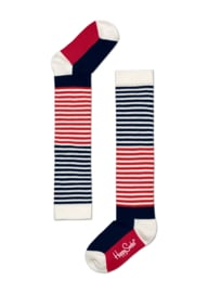 Happy Socks Kniekousen Half Stripe