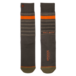 XPooos Essential Bamboo Sokken Khaki/Olivegreen 67005