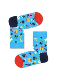 Happy Socks Kids Gift Sock Blauw