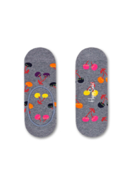 Happy Socks Liner Cherry Grijs