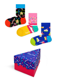 Happy Socks 3-Pack Gift box Happy Birthday | 0 - 12 maanden, Maat 13/21