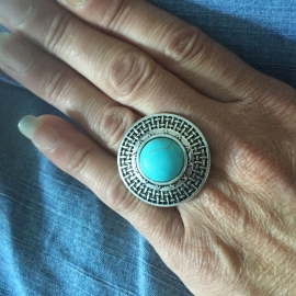 Boho ring 2