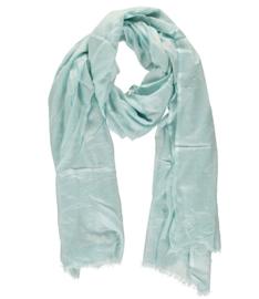 Sarlini lange Dames sjaal Pastel Blue