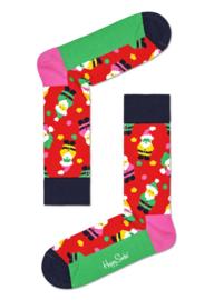 Happy Socks Christmas Santa Sock