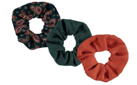 Sarlini Haarelastiek Scrunchies Paisley | 3 stuks
