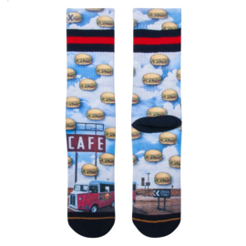 Xpooos Socks Luke BurgerCity 60210