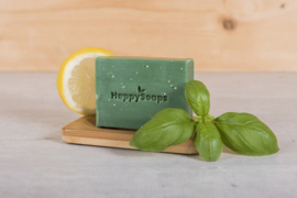 HappySoaps Body Bar – Citroen en Basilicum