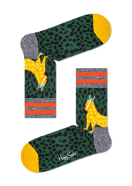 Happy Socks Athletic Animal Mid High Sock