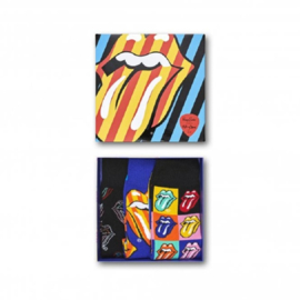 Happy Socks Collabs 3-Pack Giftbox Rolling stones Multi