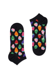 Happy Socks Low Socks | Sneaker Sok | Strawberry