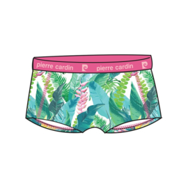Pierre Cardin Dames Design Hipster/Boxershort Tropical Leaves