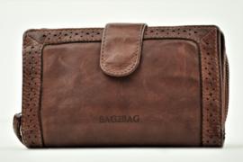 Bag2Bag Limited Edition Wallet   Portemonnee Irving, Dark Tan Cognac