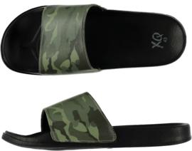 QX Heren Badslipper / Poolslider Camouflage