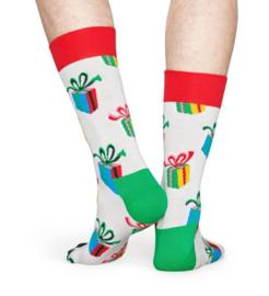 Happy Socks Christmas Present Sock