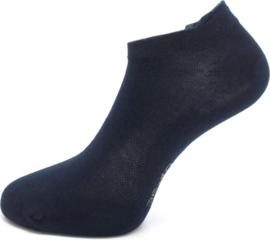 Boru Bamboo Short Sneaker Sok met lipje | 2-Pack | Marine