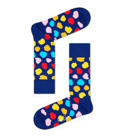 Happy Socks Assymetrical Dots Sock