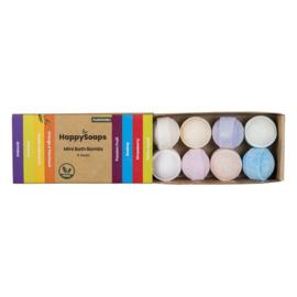 HappySoaps Mini Bath Bombs – Tropical Fruits