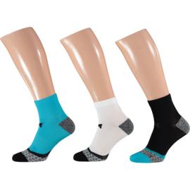 X-treme Running | Hardloop sokken | Multi Blue | 3-Pack