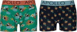 Apollo   Heren boxershorts   2-Pack Giftbox   Toucan