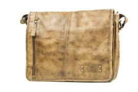 Bag2Bag Schoudertas/Laptoptas Detroit Brown