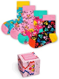 Happy Socks 4-Pack Giftbox Pink Panther Limited Edition | 0-12 maanden