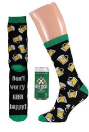 Apollo | BIER | Groen Bierblikje met een leuk paar sokken