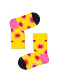 Happy Socks Kids Smiley Flower Sock